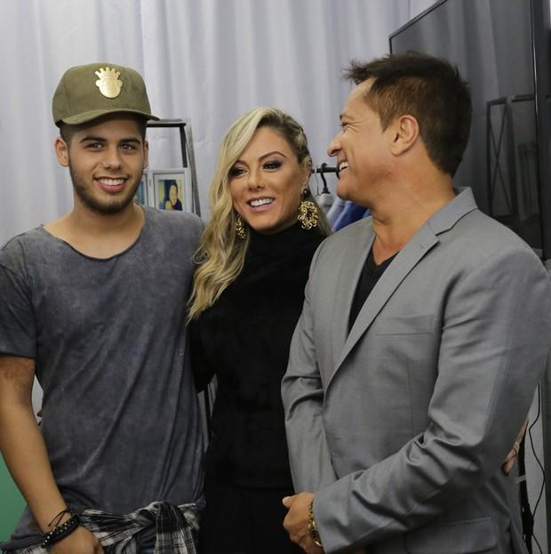 Famosos e Familiares na Gravação Dvd Zé Felipe (Foto: Claudio Augusto  /Brazil News)