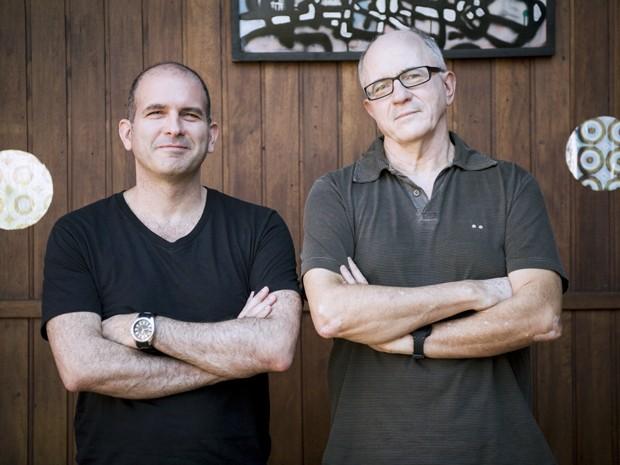 Marcos Bernstein e Carlos Gregório assinam primeira novela como titulares (Foto: Globo / João Cotta)