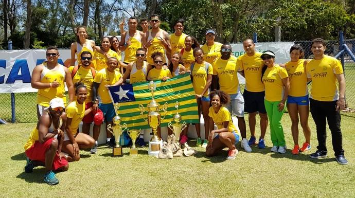 Piauí Norte/Nordeste de atletismo 2016 (Foto: Arquivo Pessoal)