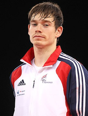 aaron cook lutador de taekwondo (Foto: Getty Images)