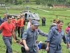 Homem é encontrado 20 horas após cair de parapente no Vale do Itajaí