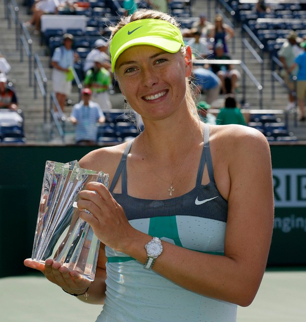Sharapova tênis Indian Wells (Foto: Reuters)