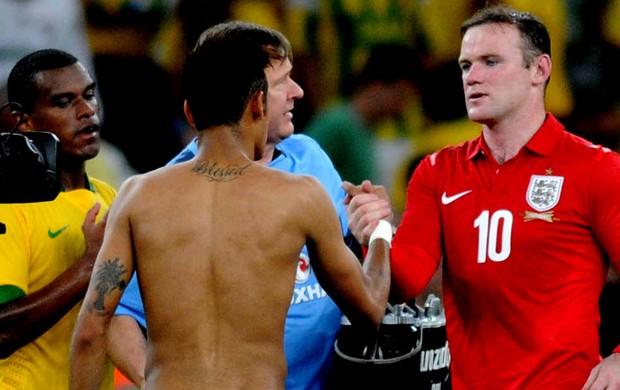 tatuagem neymar brasil e rooney inglaterra (Foto: André Durão / Globoesporte.com)