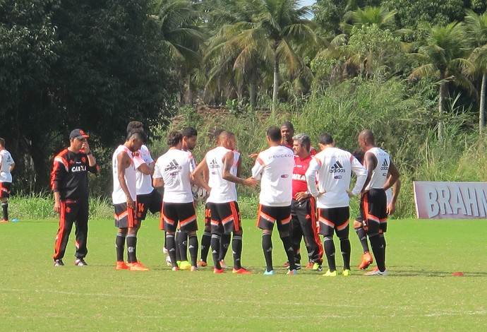 Ney Franco Treino Flamengo (Foto: Thales Soares)