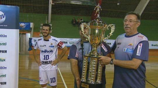 São João da Boa Vista conquista 3º lugar da Taça EPTV de Futsal/ Central