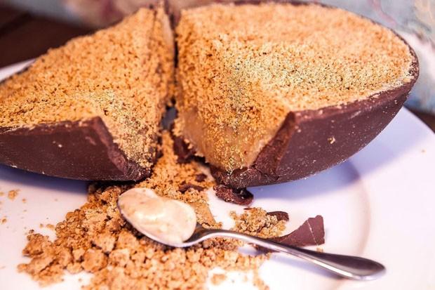 Especial Páscoa Aprenda A Fazer Ovo De Chocolate Com Recheio De