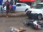 Motociclista morre atropelado por veículo de carga em Santa Rita, MA