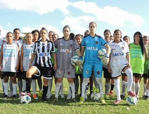 Botafogo-PB, feminino, Belas do Belo (Foto: Divulgação)