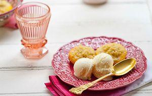 Sobremesa crocante de pêssego: receita da Rita Lobo