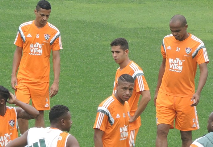 Treino reservas Fluminense Laranjeiras (Foto: Fred Huber)