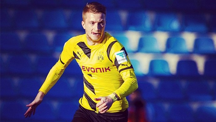 Reus, Borussia Dortmund x Steaua Bucareste (Foto: Instagram)