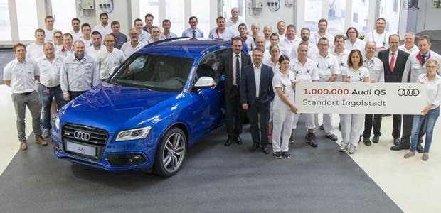 Audi comemora produção de 1 milhão de unidades da linha Q5 (Foto: Divulgação)