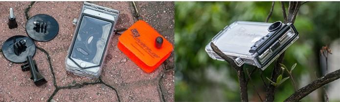 Capa à prova dágua para usuários aventureiros (Foto: Divulgação/Kraft)