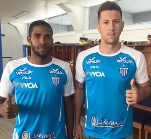 Romarinho e Fábio Sanches Avaí (Foto:  Leandro Boeira/Avaí F.C.)