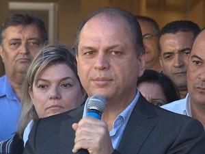 Ministro da Saúde Ricardo Barros esteve em Maringá neste domingo (15) (Foto: Reprodução/ RPC)