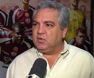 José Manuel Evaristo, diretor de futebol da Ferroviária (Foto: Felipe Lazarotto/EPTV)