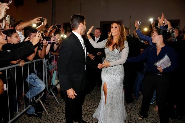 Ivete Sangalo no casamento de Preta Gil e Rodrigo Godoy, no Rio (Foto: Felipe Panfili/Agnews)