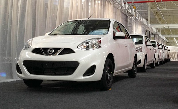 Nissan New March na fábrica da marca em Resende (RJ) (Foto: Aline Magalhães/Autoesporte)