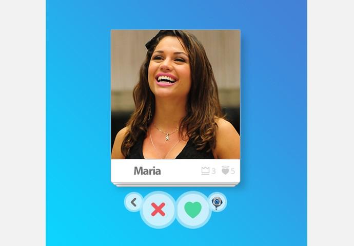 App_Maria (Foto: Big Brother Brasil / Gshow)