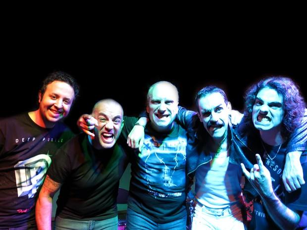 Banda Rock Collection é uma das atrações do Natal Rock Solidário, em Mogi (Foto: Marcos Vox/ divulgação)