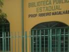 Biblioteca estadual inaugurada como modelo está fechada em Parnaíba