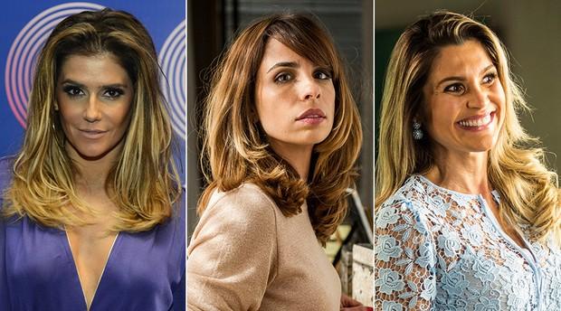 Deborah Secco, Maria Ribeiro e Flávia Alessandra (Foto: TV Globo )