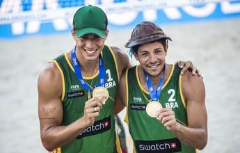 Invictos, Álvaro e Saymon vencem final brasileira e são campeões nos EUA