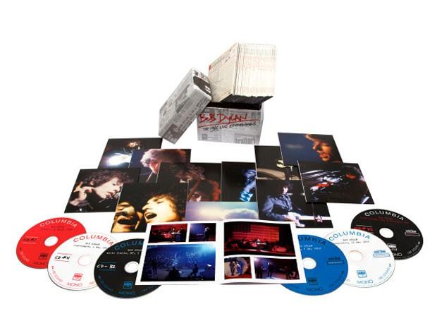Box 'Bob Dylan: The 1966 live recordings', que reunirá 36 gravações de shows da turnê de 1966 do músico americano; lançamento está marcado para 11 de novembro (Foto: Divulgação)