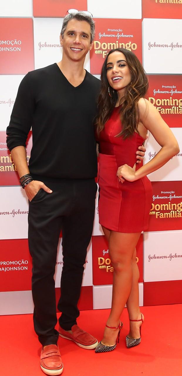 Anitta com Márcio Garcia (Foto: Manuela Scarpa/Brazil News)