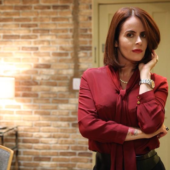 Fernanda Young volta a atuar na nova série do canal GNT  (Foto: Tricia Vieira)