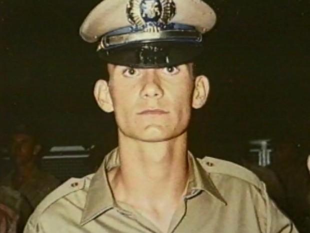 Marcoo Eli Chereze, policial que morreu em Varginha, MG (Foto: Arquivo EPTV)