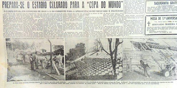 eucaliptos inter copa 1950 (Foto: Reprodução)