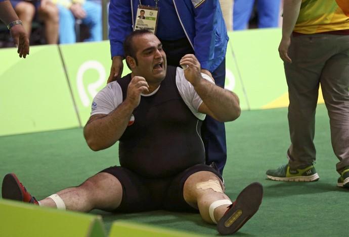 Behdad Salimi levantamento de peso Rio 2016 (Foto: Reuters)