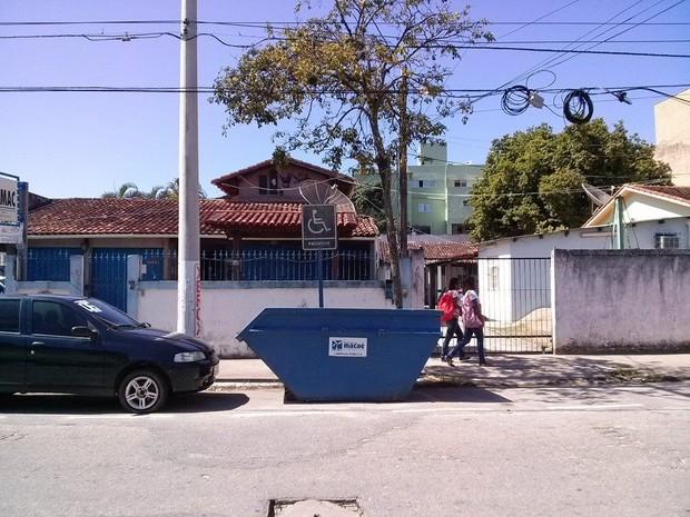 Caçamba Macaé (Foto: Antonio Carlos Caetano/Arquivo pessoal)