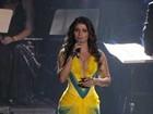 Look decotado de Paula Fernandes é eleito o melhor do 'Criança Esperança'