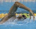 Andre Brasil faz o básico e vai à final dos 400m livre; ucraniano domina