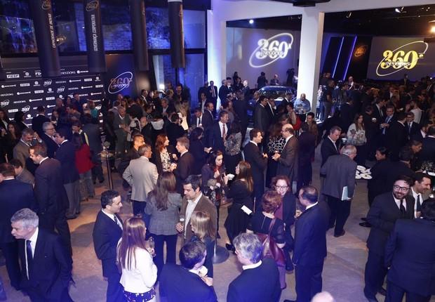 A cerimônia de premiação do 360° ocorreu em São Paulo nesta terça-feira (08/08) (Foto: Ricardo Cardoso)