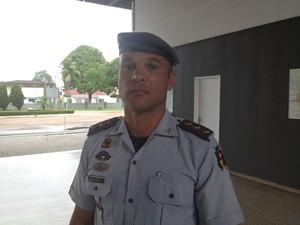 Rodolfo Oliveira, coronel da Polícia Militar (Foto: Dyepeson Martins/G1)