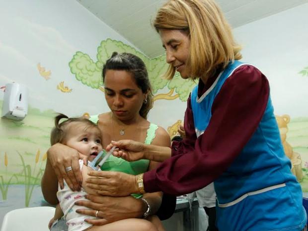 Semsa espera imunizar 80% das pessoas que integram grupos vulneráveis (Foto: Altemar Alcântara/Semcom)