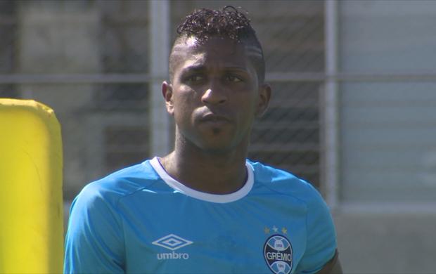Miller Bolaños Grêmio treino