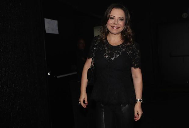 Noely em gravação do DVD de Chitãozinho e Xororó  (Foto: Iwi Onodera/EGO)