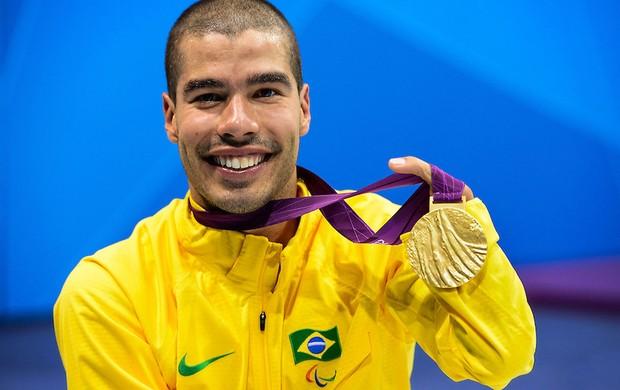 Paralimpíada Daniel dias medalha de ouro 200m livre  (Foto: Buda Mendes / CPB)