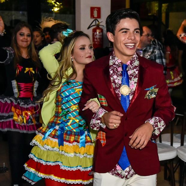 Thomaz Costa e Larissa Manoela (Foto:  Caio Duran / Quattro G / Divulgação)