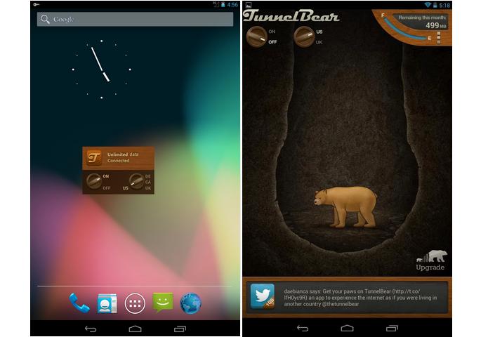 TunneBear é um programa para criar redes privadas (Foto: Divulgação)