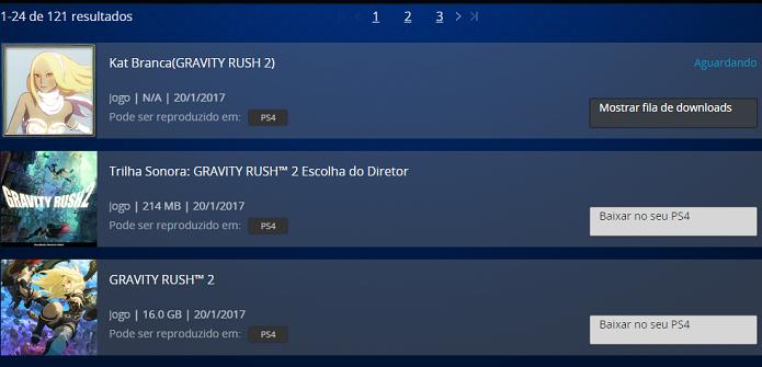 Gravity Rush 2 ficará disponível para download logo depois da aquisição (Foto: Reprodução/Victor Teixeira)