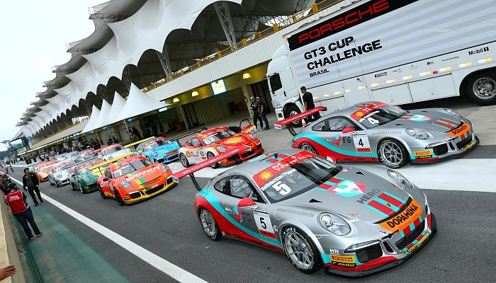 Porsche Cup em Interlagos