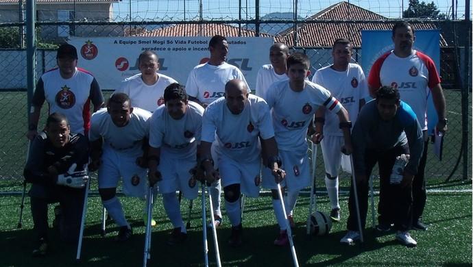 Smel Mogi Futebol amputados (Foto: Divulgação)