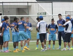 Treino Cruzeiro  (Foto: Tarcisio Neto)