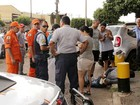 Homem rouba bolsa no DF e é preso por bombeiros que atendiam acidente