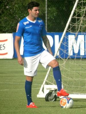 Mena Treino Cruzeiro (Foto: Tayrane Corrêa)